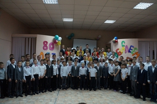Детский дом Уссурийска отметил 80-летний юбилей
