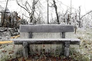 Ледяные дожди в Европе