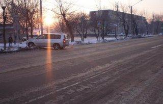 38-летняя женщина попала под колеса авто в Уссурийске