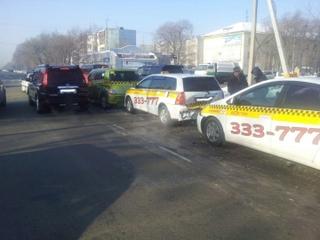 Тройное ДТП с двумя пострадавшими детьми произошло в Уссурийске