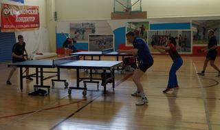 Дальневосточный Чемпионат по настольному теннису стартовал в Уссурийске