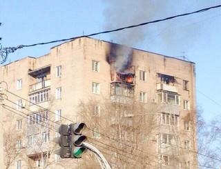 МЧС выясняет причины пожара на Комсомольской в Уссурийске
