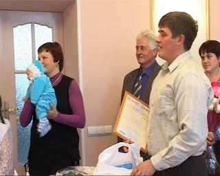Двухтысячный малыш Уссурийска родился 9 октября