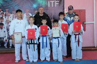 Уссурийские тхэквондисты удачно выступили на соревнованиях в Москве
