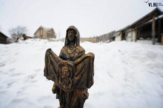 Богородица, Уссурийск огради: в Михайловке создают скульптуру по чудотворной иконе