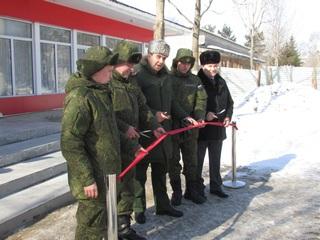 Солдатская чайная нового поколения открылась в одной из воинских частей Уссурийска Подробнее: