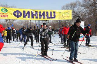 Уссурийцы поддержали Всероссийскую акцию «Лыжня России - 2015»