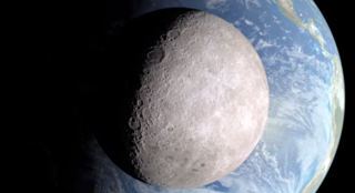 НАСА выложило в Сеть видео с изображением темной стороны Луны