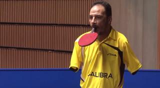 Ибрагим Хамато — единственный в мире безрукий теннисист