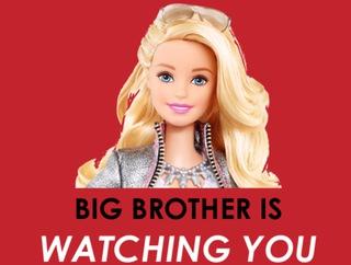 Барби: кукла-шпион для вашего ребенка
