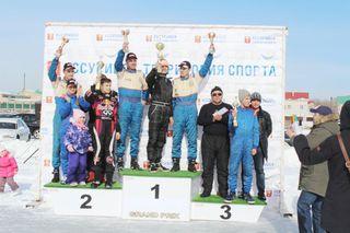 Соревнования по трековым автогонкам прошли в Уссурийске
