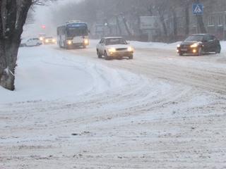Междугороднее автобусное сообщение частично приостановлено в Уссурийске из-за циклона