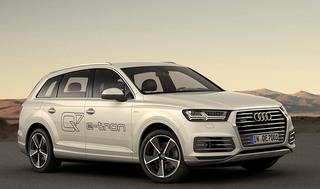 Audi представляет свои электромобили