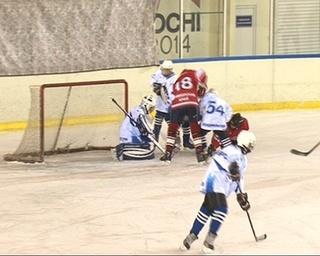 Неделя детского хоккея прошла в «Ледовой арене»