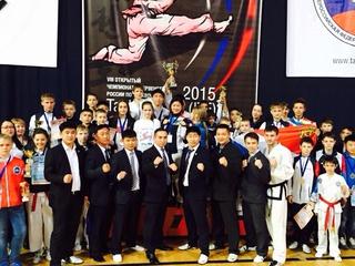 Сборная Приморья стала чемпионом России по тхэквондо
