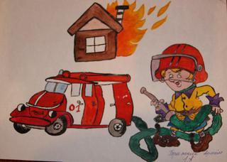 """Конкурс на противопожарную тематику """" Огонь-друг, огонь-враг"""" стартует для детей в Уссурийске"""