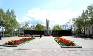 Ремонт Уссурийской площади Победы продолжается