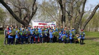 Аллея тхэквондо появилась в Уссурийске в День Весны и Труда
