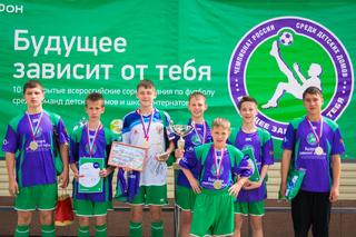 Юные футболисты из Уссурийска сыграют в финале чемпионата «Будущее зависит от тебя» в Сочи