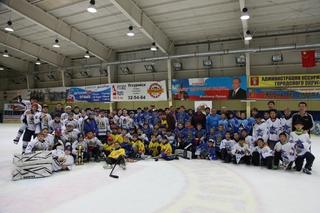Юные хоккеисты Дальнего Востока и Китая сразились в Уссурийске за звание лучших