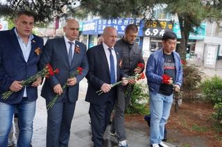 Делегация из Уссурийска почтила память советских воинов, погибших в Китае