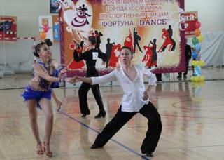 Чемпионат по спортивно – бальным танцам прошёл в Уссурийске