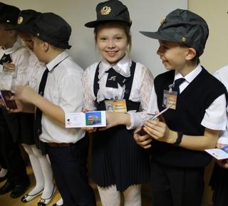 У транспортных полицейских Уссурийска появился отряд юных помощников