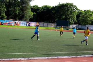 72 команды примут участие в турнире по футболу среди дворовых команд на кубок главы администрации Евгения Коржа