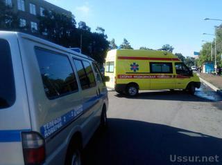 Водитель такси сбил пешехода на