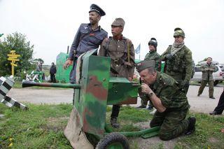 В Уссурийске прошла военно-патриотическая игра «Враг у ворот»