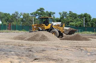 В Уссурийске началось строительство трех спортивных площадок