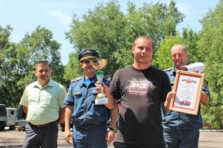 Соревнования добровольных пожарных дружин впервые прошли в Уссурийске