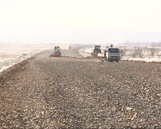 15 километров объездной дороги уже покрыто асфальтом