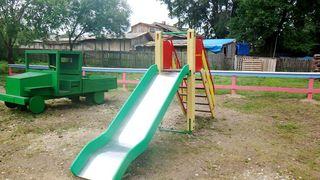В селе Улитовка появилась новая детская спортивная площадка