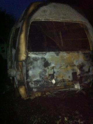 Мужчина обокрал работодателя и сжег рабочую машину в Уссурийске