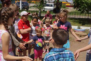 Благодаря общественникам жизнь уссурийских ребят на каникулах становится интересней