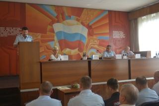 Начальник УМВД России по Приморскому краю встретился с командирами народных дружин в Уссурийске