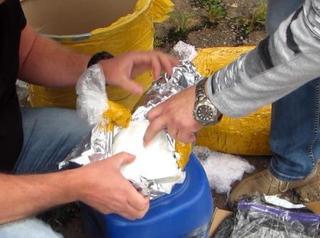 Уссурийской таможней задержан наркокурьер