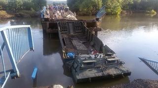Мост у села Кроуновка в Приморье обрушился при прохождении спецтехники