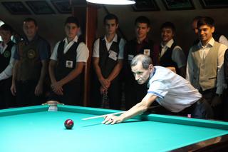 На пять дней в уссурийскую «Империю» съехался весь цвет бильярдного спорта