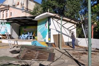 В городском парке Уссурийска начались работы по подготовке к строительству зоопарка