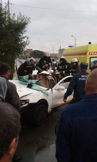 Авария со смертельным исходом произошла сегодня на пушкинском мосту в Уссурийске.