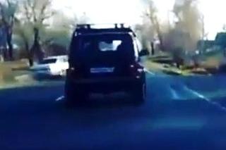 Серьёзная авария в Уссурийске попала на видео