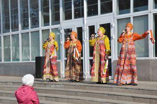 День народного единства уссурийцы встречают праздничными концертами