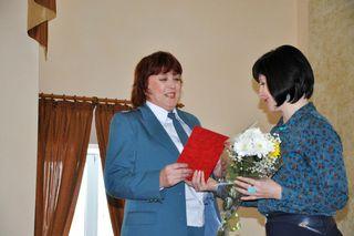 Мероприятие, посвящённое 25-летию органов налоговой службы РФ, прошло в Уссурийске