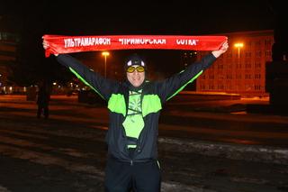 Александр Жуков пробежал свой 100-километровый марафон от Владивостока до Уссурийска