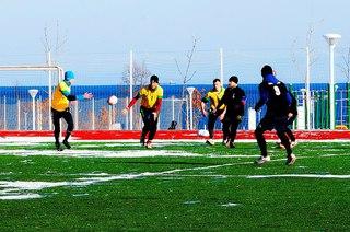 Уссурийск сразился с Владивостоком в товарищеском матче по регби