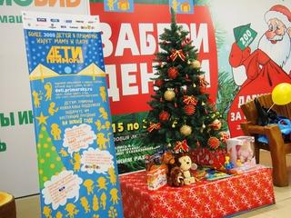 Более 400 подарков для детей-сирот уже собрали в Приморье