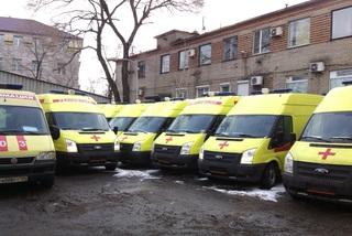 9 реанимобилей закуплено для детских больниц Приморья