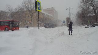 Снегопад сделал ситуацию в Уссурийске чрезвычайной